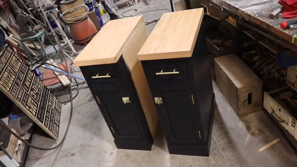Stove Side Cabinets
