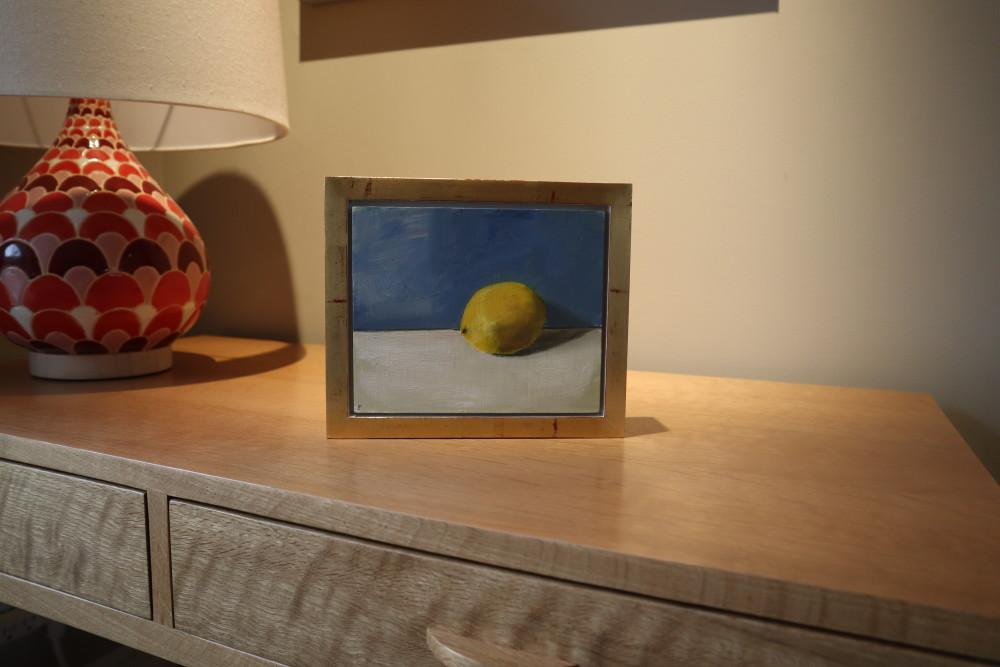 Still Life Lemon Painting